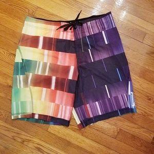 Hurley Board Shorts Phantom Multicolored Mens 36
